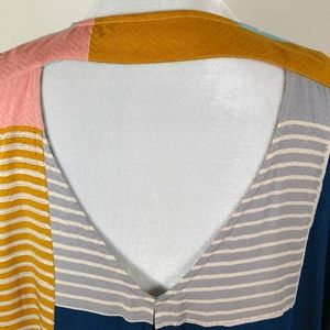 Anthropologie Tops - Anthropologie The Odells Colorblock Top Large